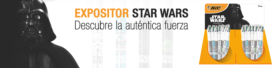 EXPOSITOR BIC STAR WARS